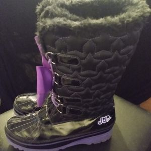Girls JO-JO Winter boots black/Purple